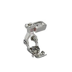Zipper foot with guide dual feed with sensor no. 14