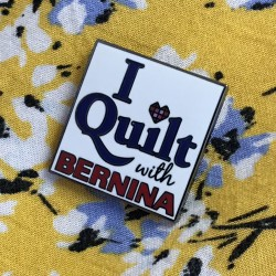Bernina Pin Badge